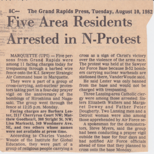 Anti-Nuke arrests in UP